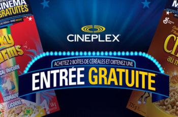 cineplex gratuit