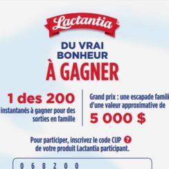 Lactantia Concours Canada